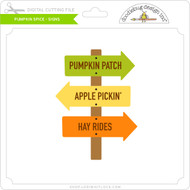 Pumpkin Spice - Signs