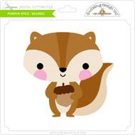 Pumpkin Spice - Squirrel