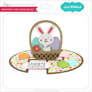 Impossible Card Easter Basket