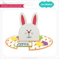 Impossible Card Easter Bunny