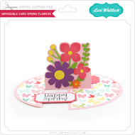 Impossible Card Spring Flowers