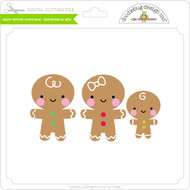 Night Before Christmas - Gingerbread Men