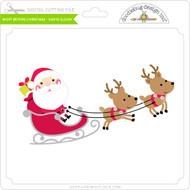 Night Before Christmas - Santa Sleigh