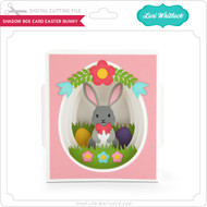Shadow Box Card Easter Bunny