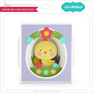 Shadow Box Card Easter Chick