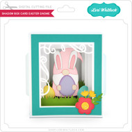 Shadow Box Card Easter Gnome