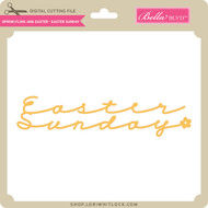 Spring Fling and Easter - Easter Sunday