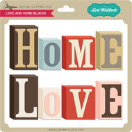 Love and Home Blocks