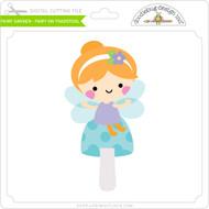 Fairy Garden - Fairy on Toadstool