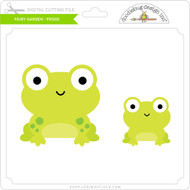 Fairy Garden - Frogs