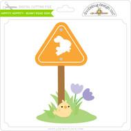 Hippity Hoppity - Bunny Road Sign