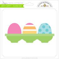 Hippity Hoppity - Colored Eggs