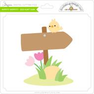 Hippity Hoppity - Egg Hunt Sign