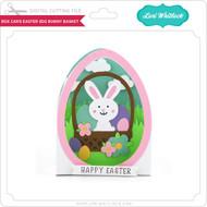 Box Card Easter Egg Bunny Basket