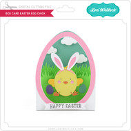 Box Card Easter Egg Chick