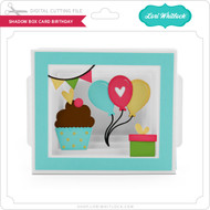 Shadow Box Card Birthday