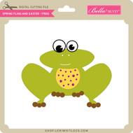 Spring Fling and Easter - Frog