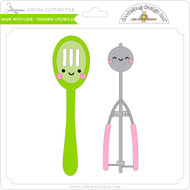 Made with Love - Cooking Utensils