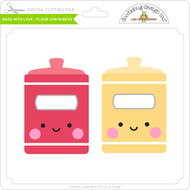 Made with Love - Flour Containers