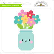 Made with Love - Flower Jar