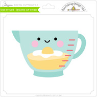 Made with Love - Measuring Cup with Egg