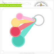 Made with Love - Measuring Spoons