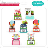 Rectangle Pop Up Card Bundle