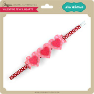 Valentine Pencil Hearts