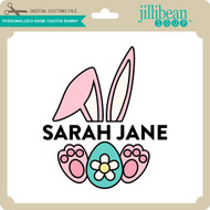Personalized Name Easter Bunny