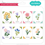 A2 Insert Card Flower Bundle