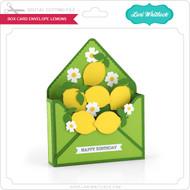 Box Card Envelope Lemons
