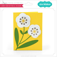 Flower Card Button All Occasion