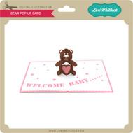 Bear Popup Card