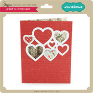 Heart Cluster Card