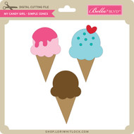 My Candy Girl - Simple Cones
