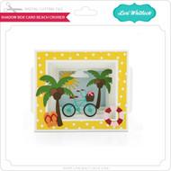 Shadow Box Card Beach Cruiser
