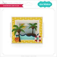 Shadow Box Card Ocean