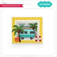 Shadow Box Card Surf Van