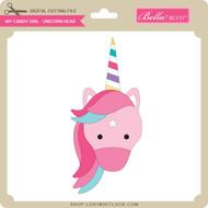 My Candy Girl - Unicorn Head