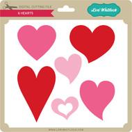 6 Hearts