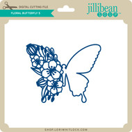 Floral Butterfly 5