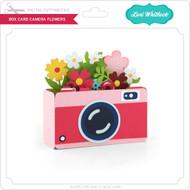 Box Card Camera Flowers