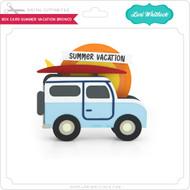 Box Card Summer Vacation Bronco