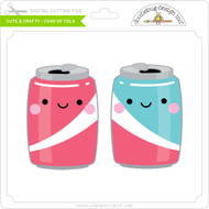 Cute & Crafty - Cans of Cola