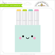 Cute & Crafty - Copic Markers Set