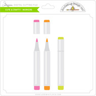 Cute & Crafty - Markers