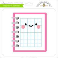 Cute & Crafty - Notebook