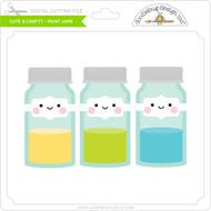 Cute & Crafty - Paint Jars