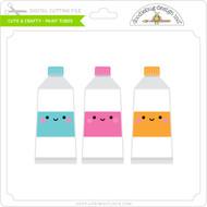 Cute & Crafty - Paint Tubes