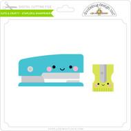 Cute & Crafty - Stapler & Sharpener